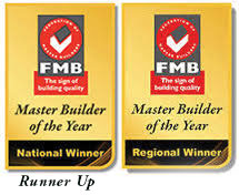 Master Builder of the year runner up - ABC Wales award image