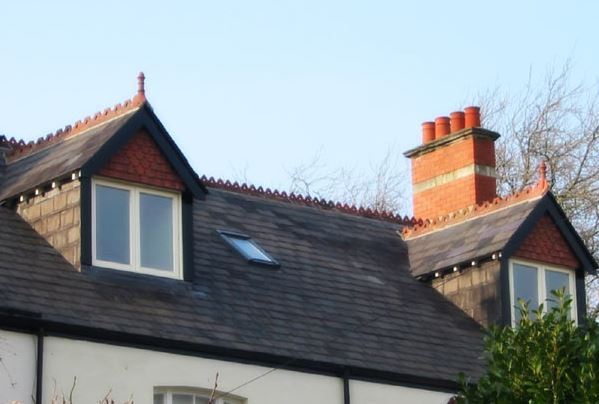 dormers of new loft extension
